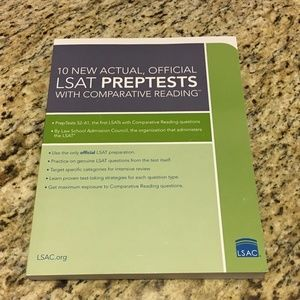 BRAND NEW: Official LSAT PrepTests with Comparativ
